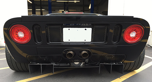 Then We Rivet The New Pieces On And Re Install The Rear Lower Pan   Ford Gt